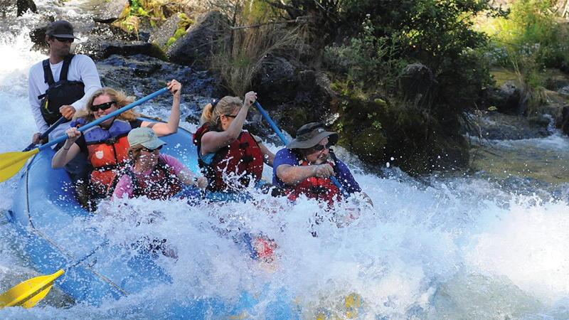 Ford Scholar Alumni Association River Rafting